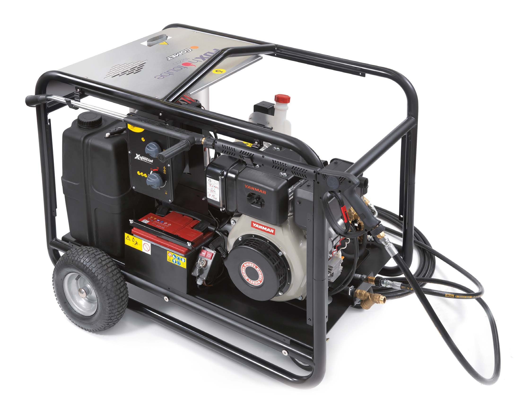 fdx hot cube pressure washers Comet