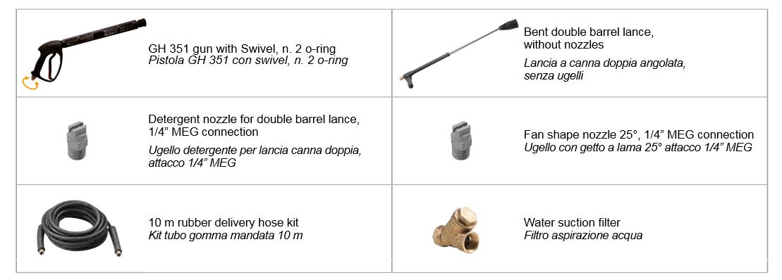 pto accessories Comet