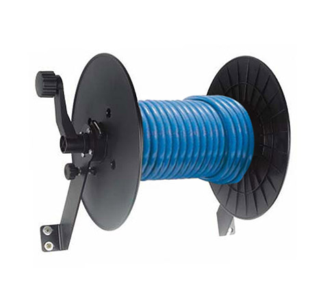 TYPE 2 HOSE REEL WITH HOSE Comet Cleaning Accessories