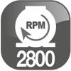 rpm 2800