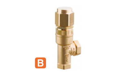 RELIEF VALVES VERSION B COMET