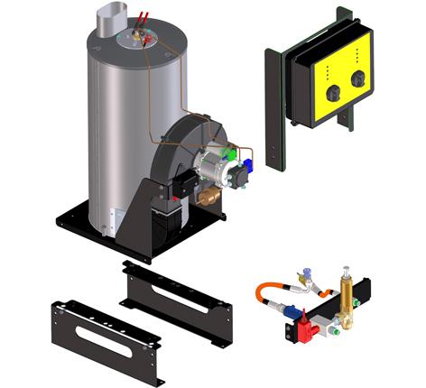 boiler kit Comet